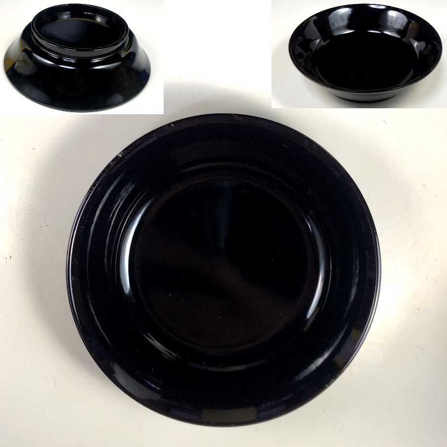 木曽漆器小皿W8222