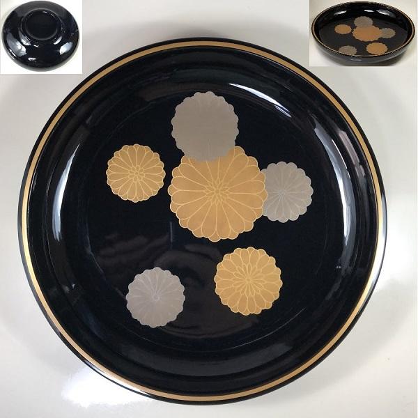 菊花紋菓子器W7235