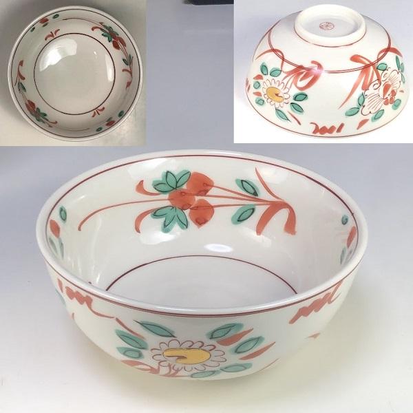 忠節窯赤絵小鉢