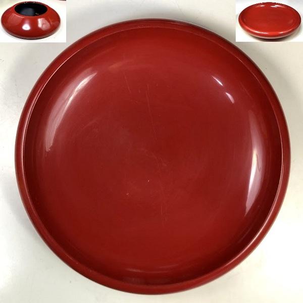 木製漆器菓子鉢W8237