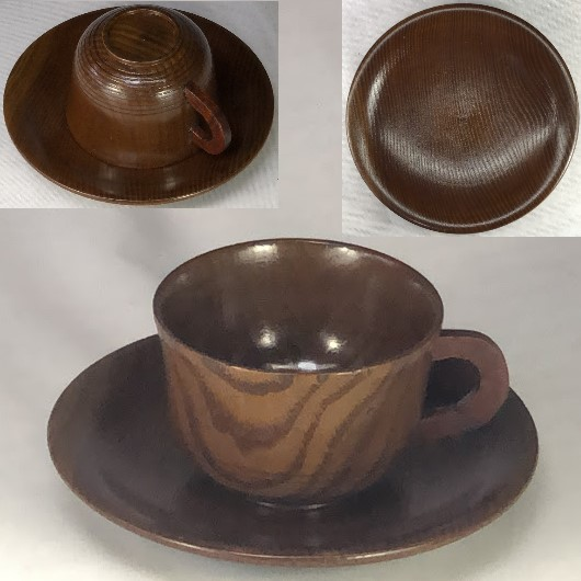 木製椀皿W7153