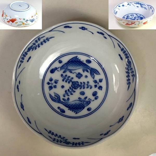 たち吉双魚膾皿