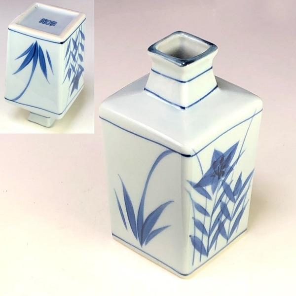 錦槌徳利花瓶
