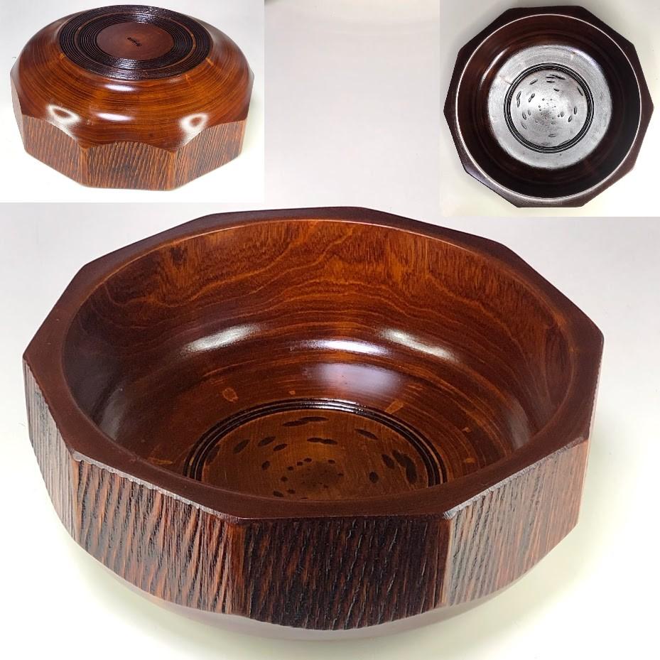 山常彫菓子鉢