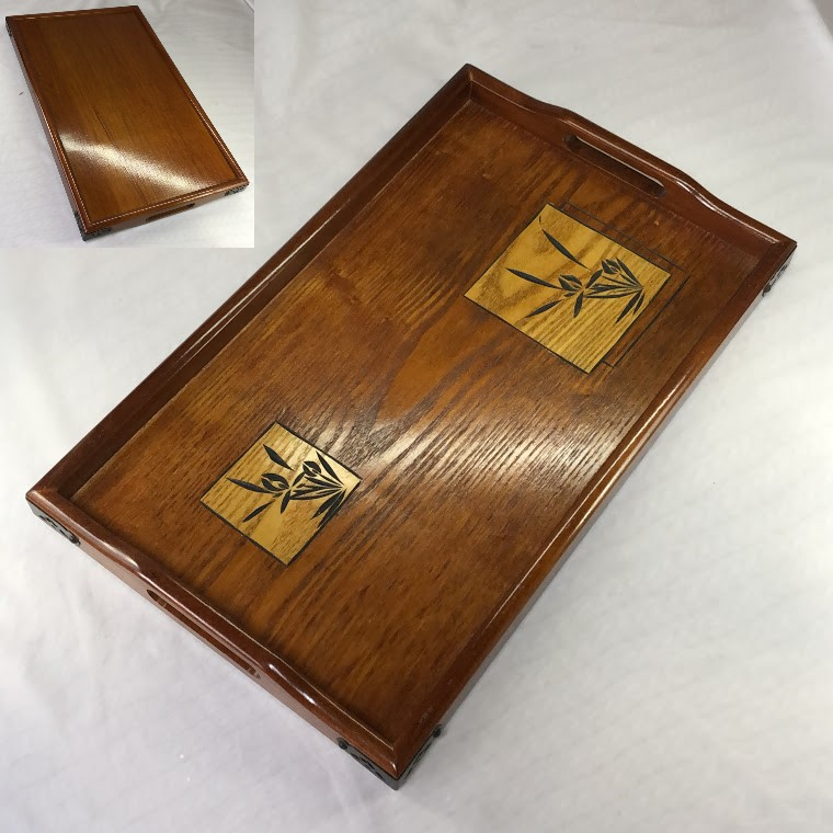 木製長手盆W7161