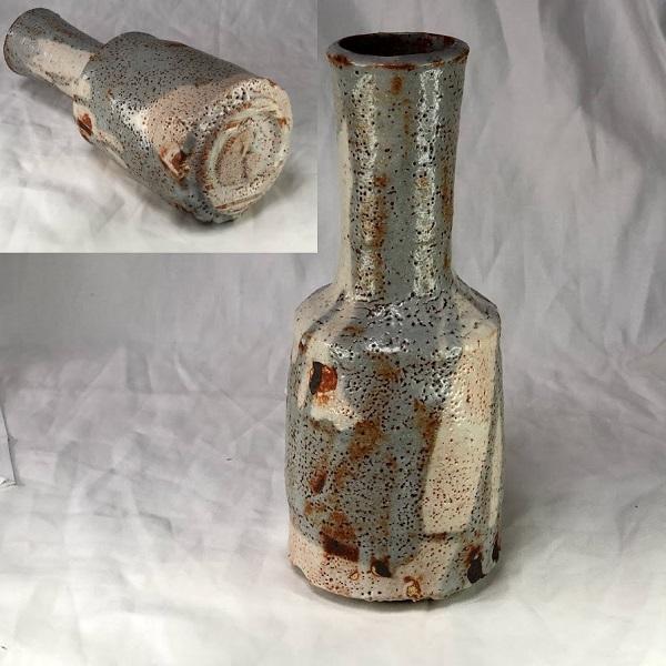 志野花瓶W8505