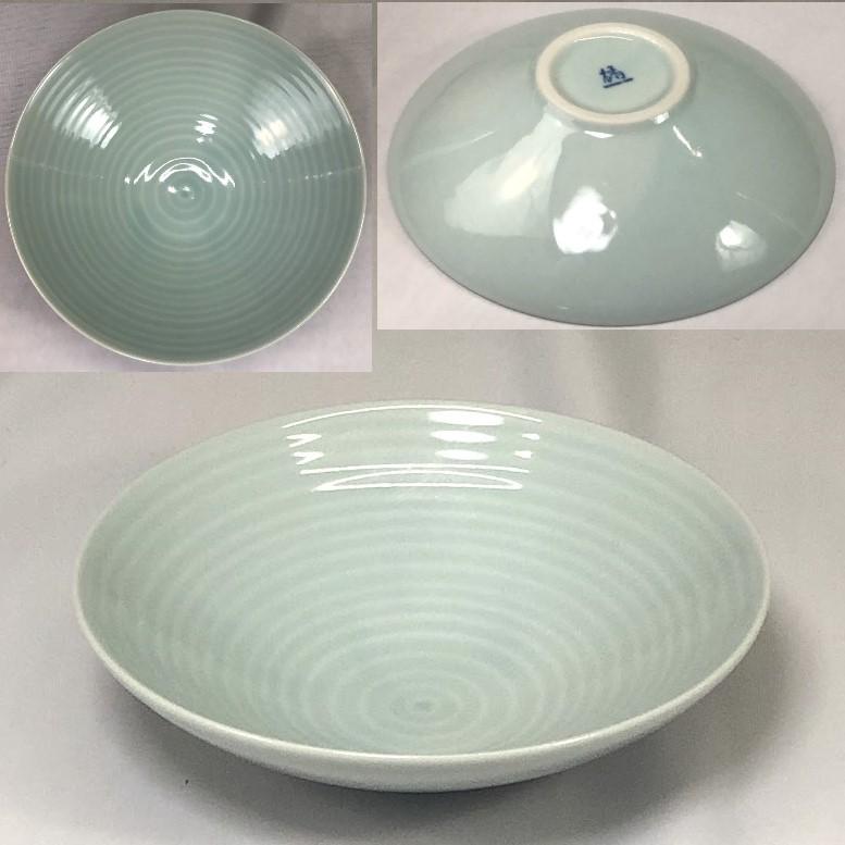 たち吉青白磁煮物鉢