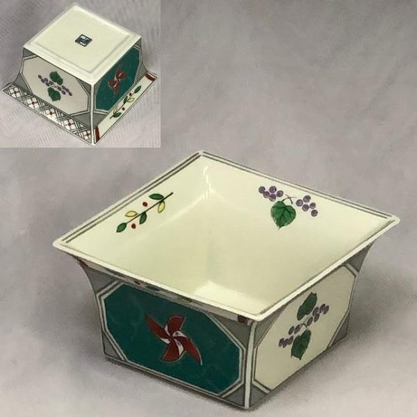 前畑陶器庫山窯角小鉢