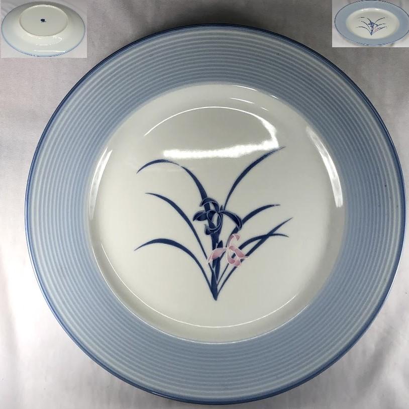 菖蒲八寸半皿W6910