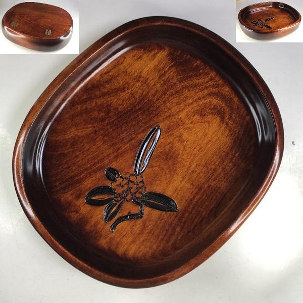 木製菓子鉢W8691