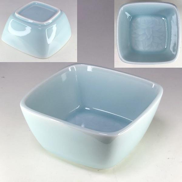 正峰青白磁角鉢