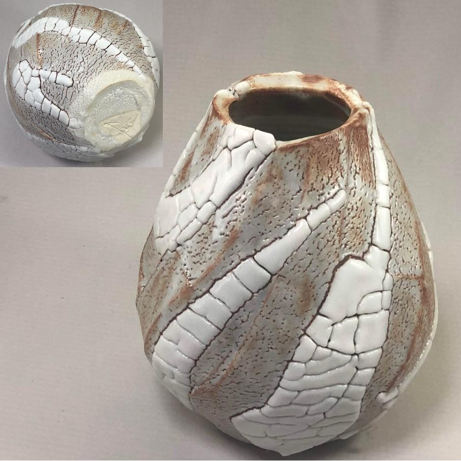 東正之志野花瓶