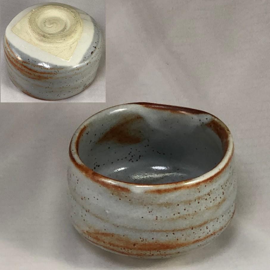 鼠志野抹茶碗W7006