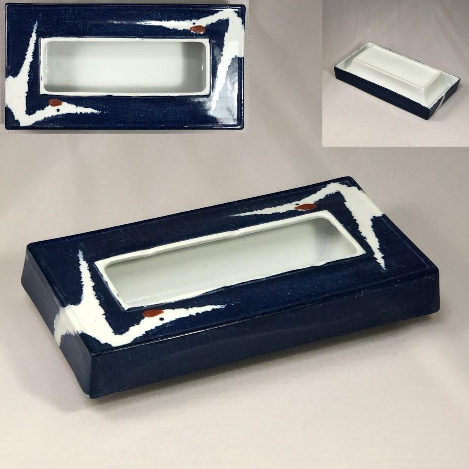 鶴の灰皿W7040