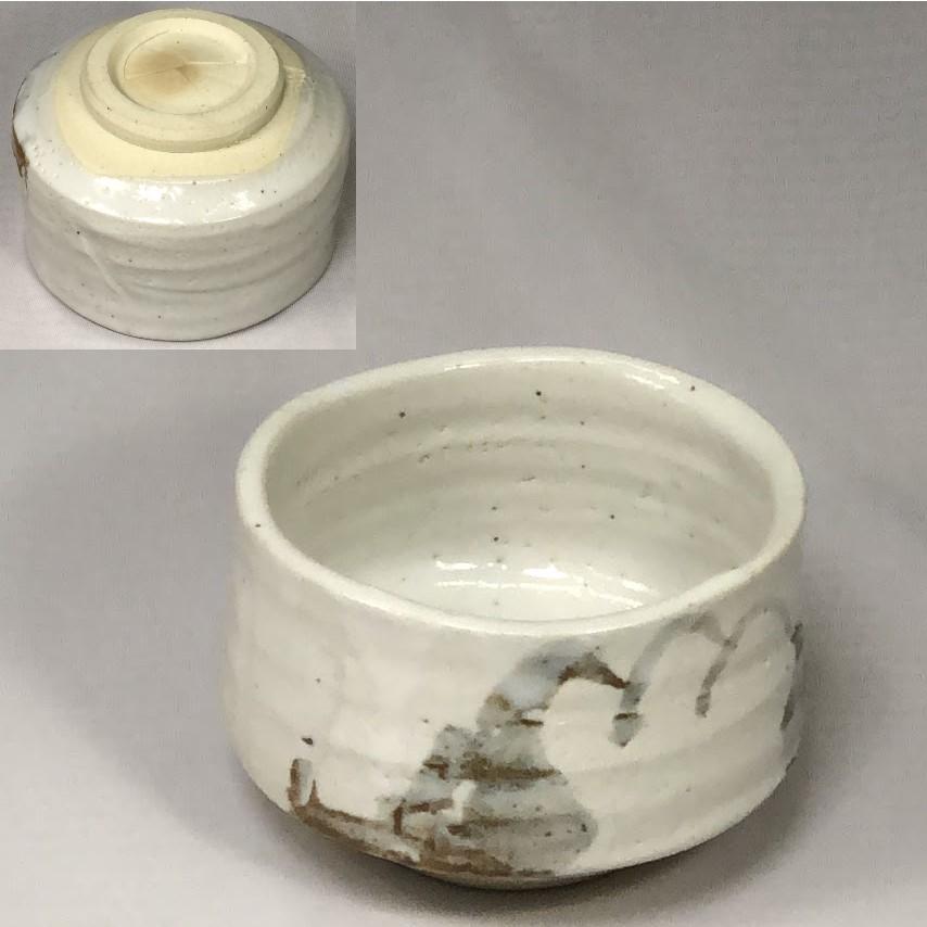志野抹茶碗W7043