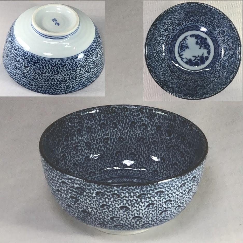 松竹梅丼鉢W7052