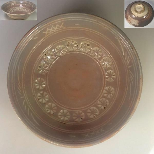 陶山三島抹茶碗