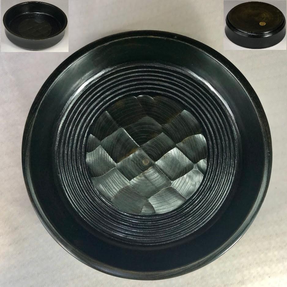 木製漆器七寸菓子鉢W7056