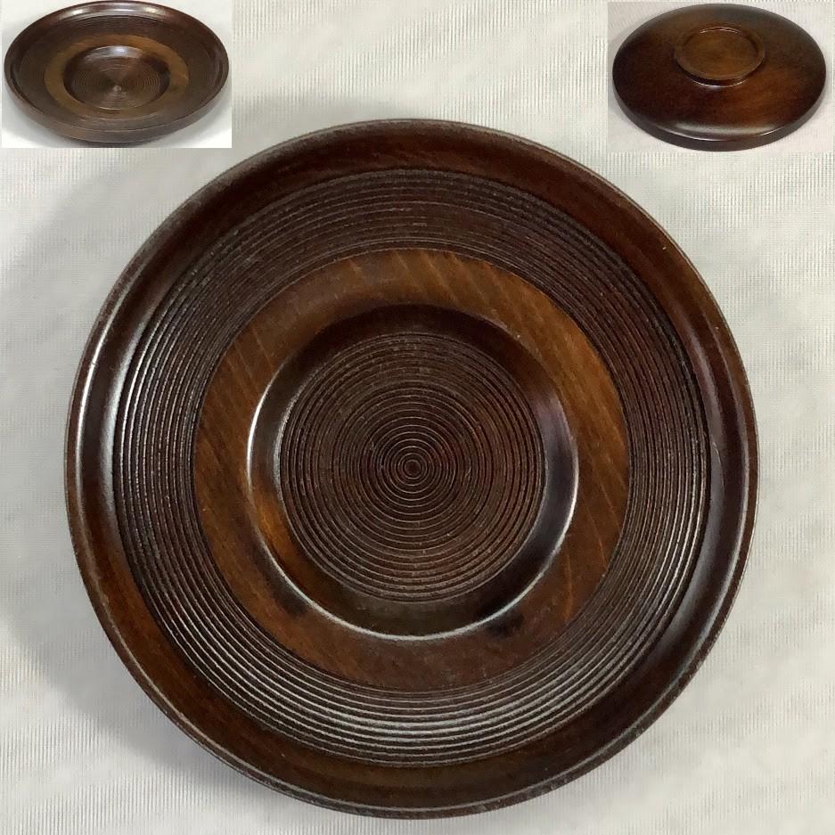 木製茶托W7098