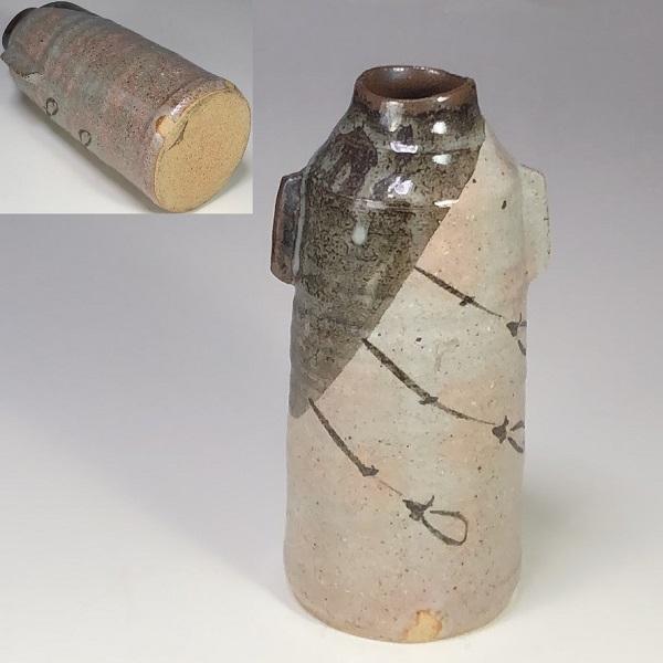 蔵珍窯両耳花瓶W7326