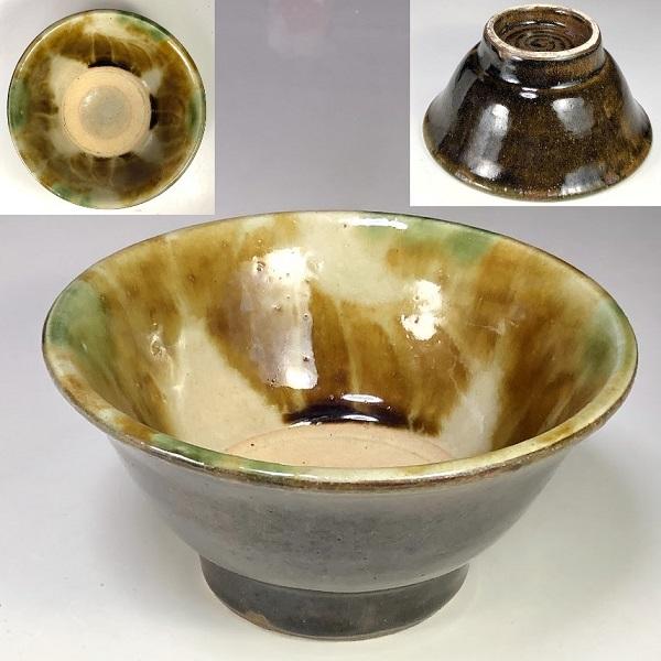琉球やちむん丼鉢W7894