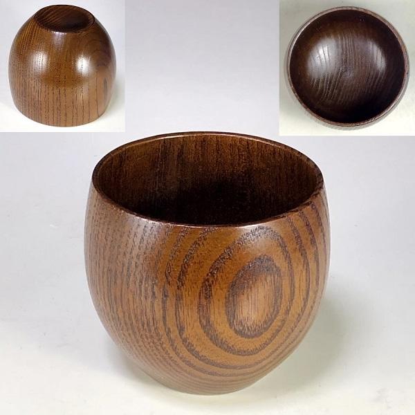 木製湯呑W7916