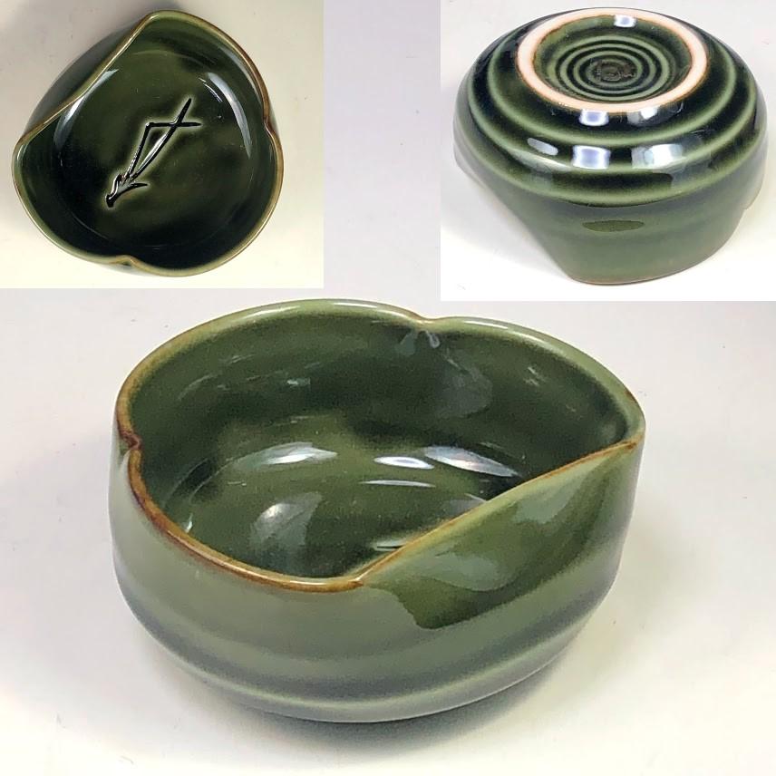 たち吉松葉豆鉢W7945
