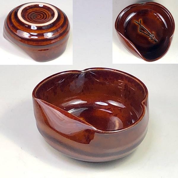 たち吉松葉豆鉢W7928
