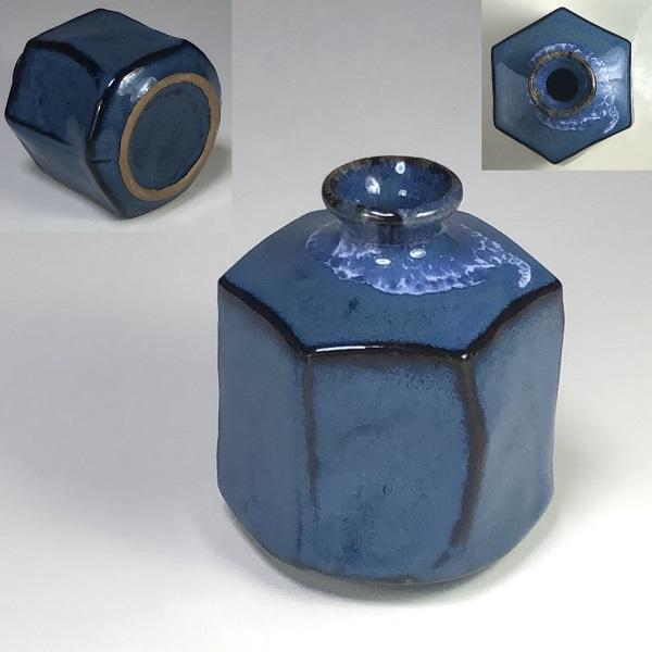 六角小壷W7346