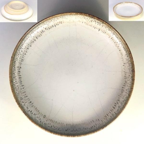 清水焼小皿W7973