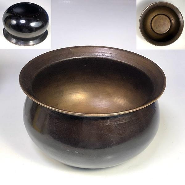 真鍮建水W7971