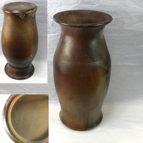 備前花瓶W8046