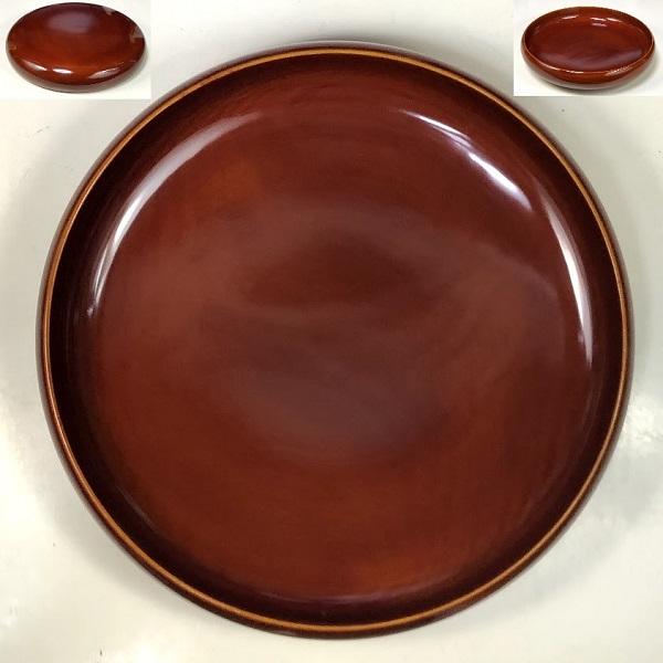 春慶塗菓子器W7980