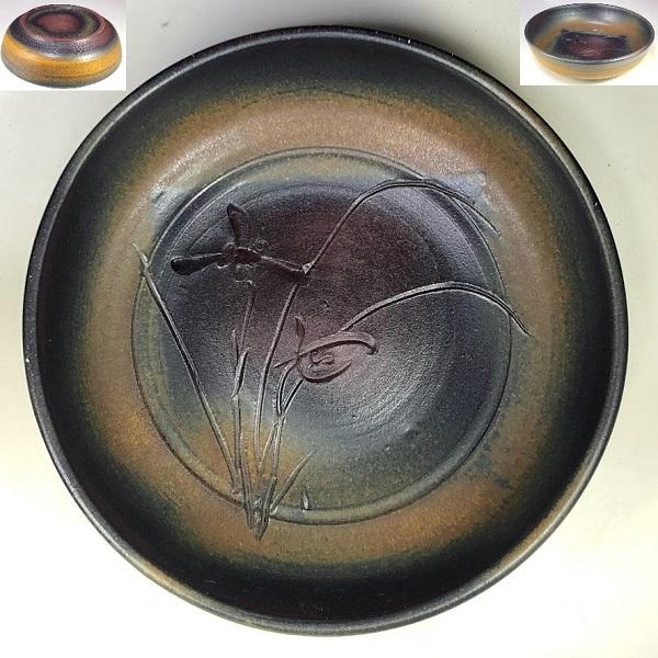 三浦硃鈴七寸鉢