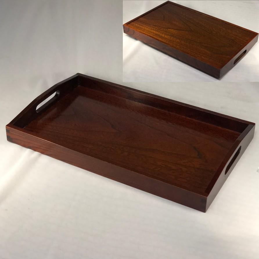 木製長手盆W7115
