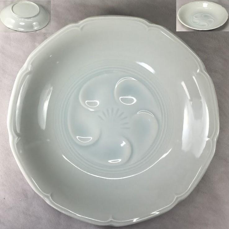 青白磁六寸半浅鉢W7118