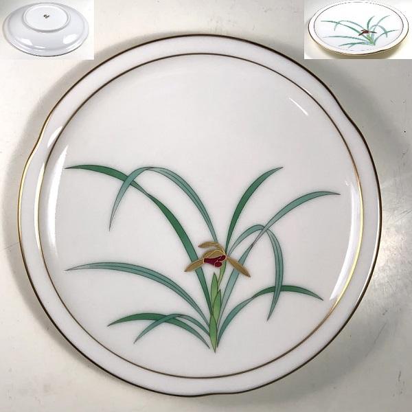 香蘭社蘭のはなぞの銘々皿W8035