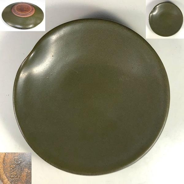 薩摩焼苗代川荒木窯小皿