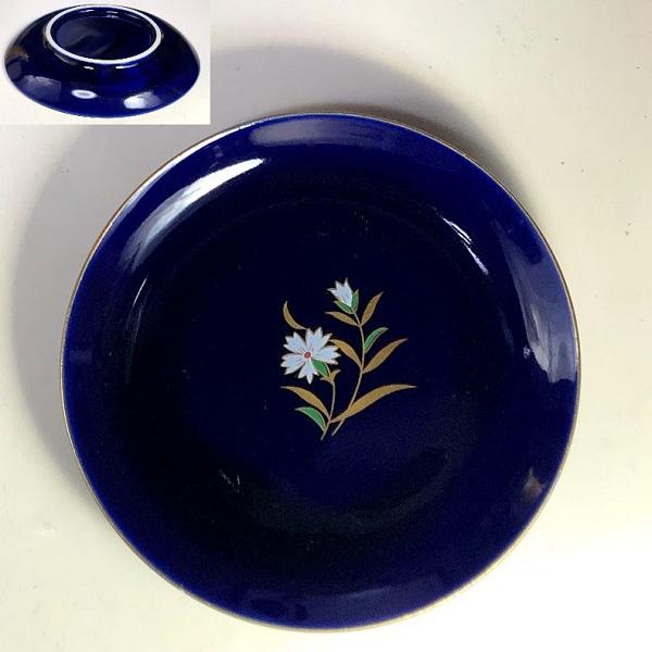 瑠璃小皿W8112